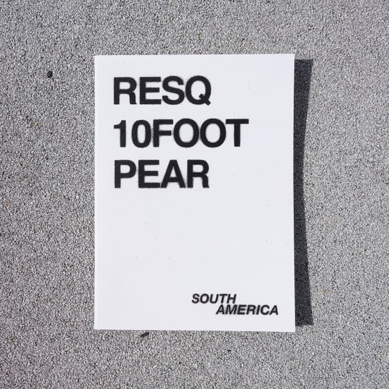 Image of SOUTH AMERICA - RESQ, 10FOOT, PEAR