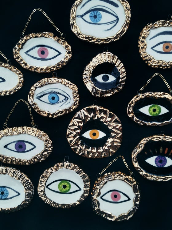 Image of Lover's Eye wall hanging