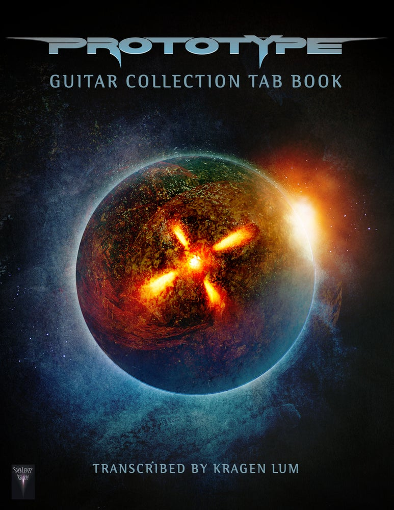 Image of Prototype - Guitar Collection TAB Book (Print Edition)