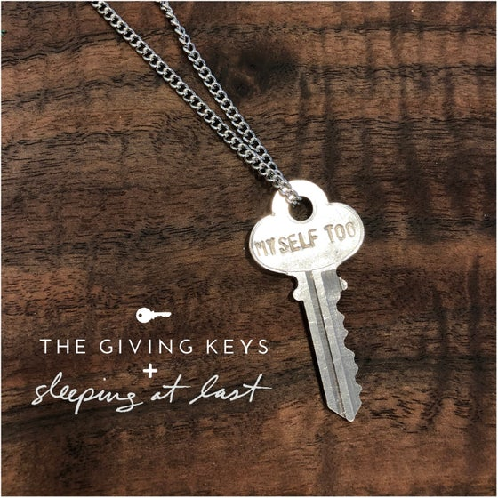 "Image of ""MYSELF TOO"" Key Necklace by The Giving Keys"