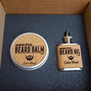 Image of Beard Oil & Balm Set - Men's Grooming All-Natural Oil - Beard Balm - Handmade in Small Batches
