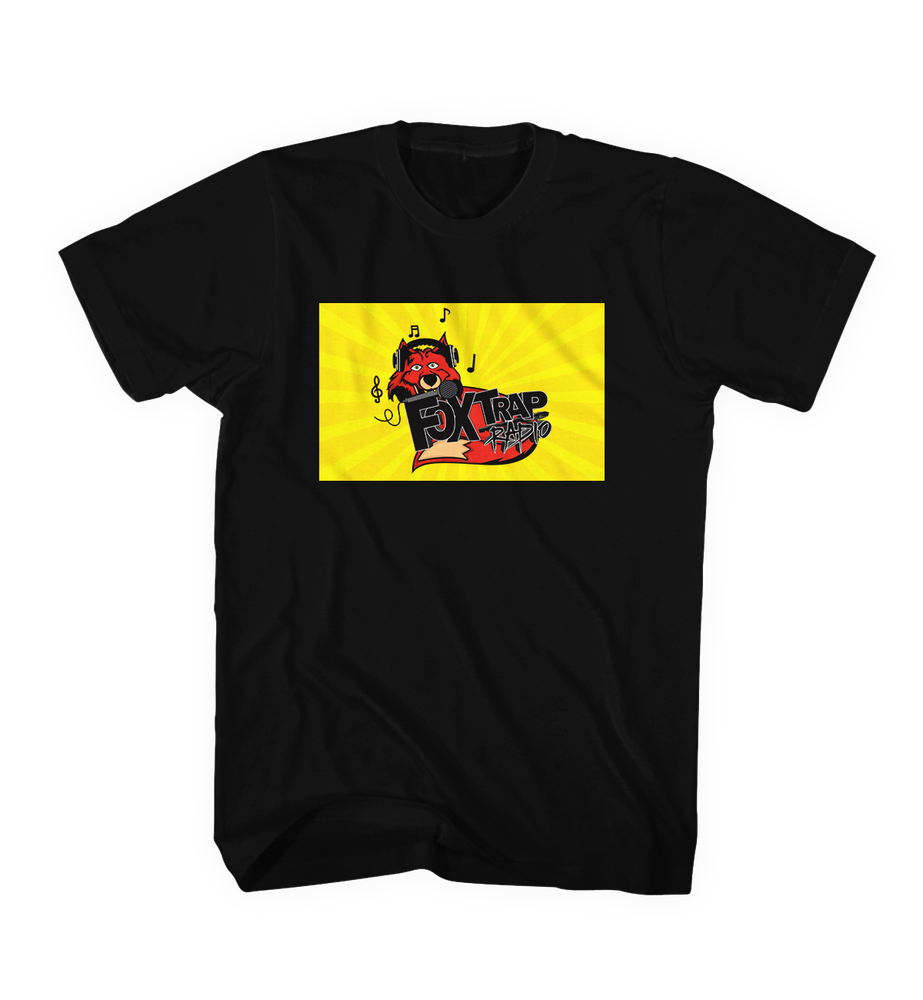 Image of FoxTrap Official Black Tee