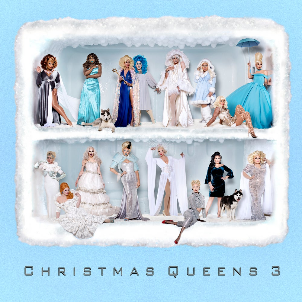 Image of ON SALE - Christmas Queens 3 Physical CD
