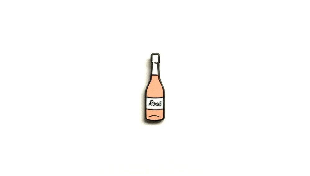 "Image of ""Rosé"" Lapel Pin"