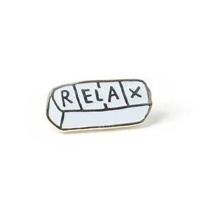 Image of Relax Enamel Pin