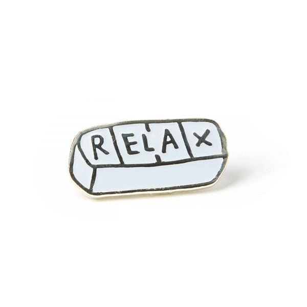 Image of Relax Enamel Pin