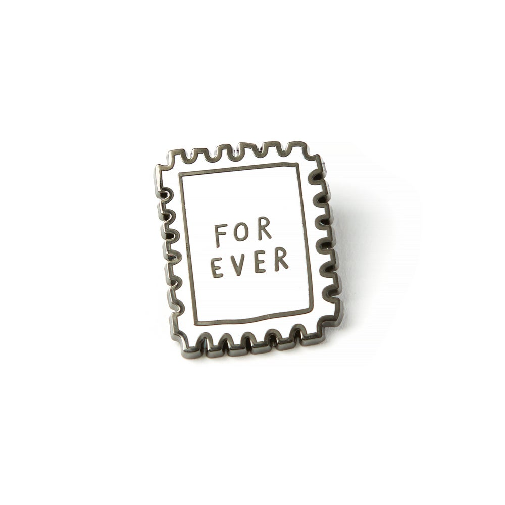 Image of FOREVER STAMP Enamel Pin