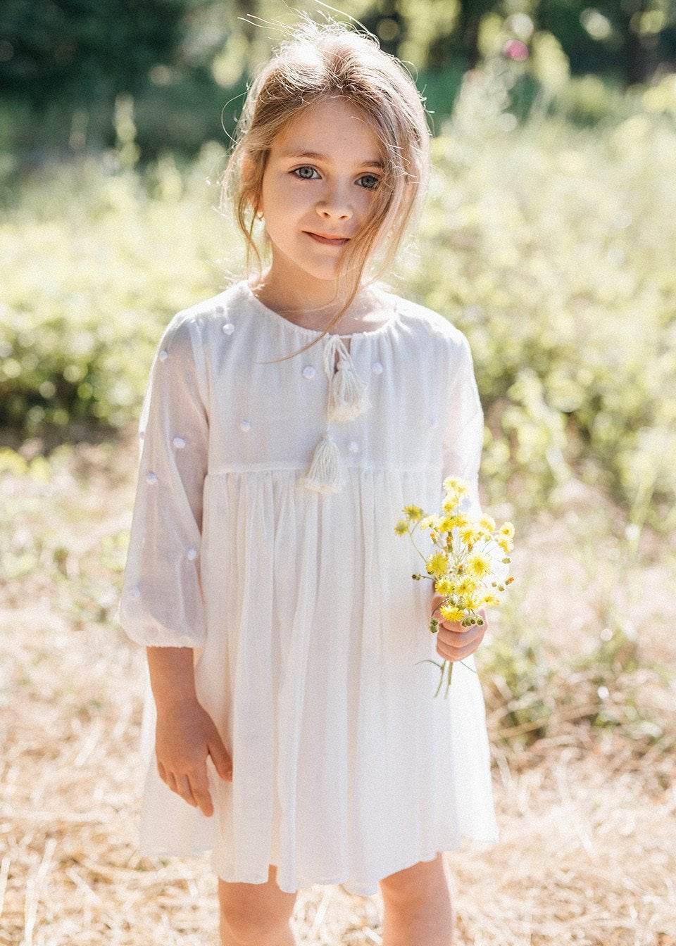 Image of the flower girl