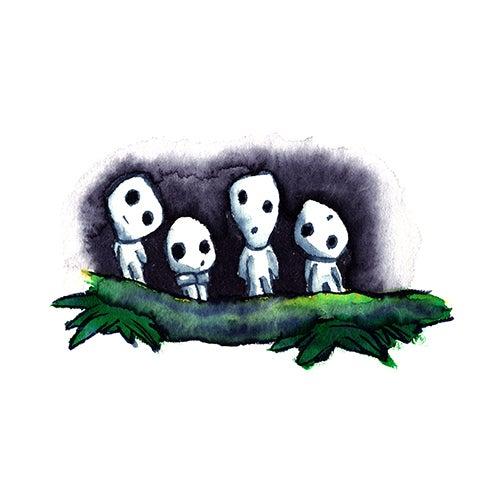 Image of Kodamas (Tree Spirits)