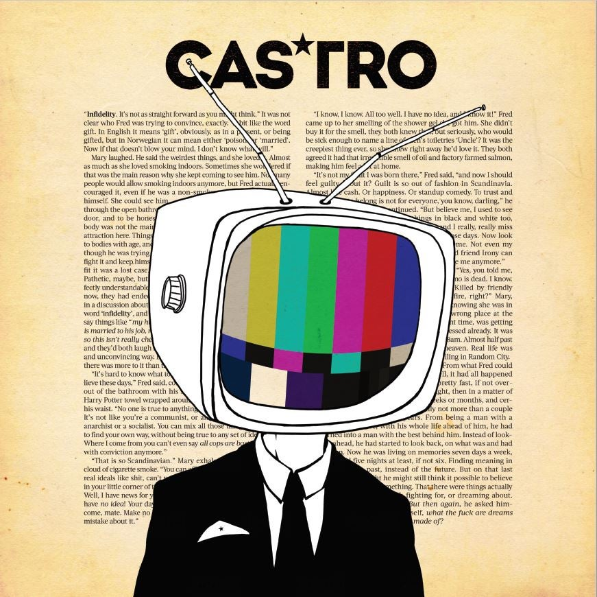 "Image of CASTRO - NEW 7"" AND LP PREORDER SPECIAL OFFER!"