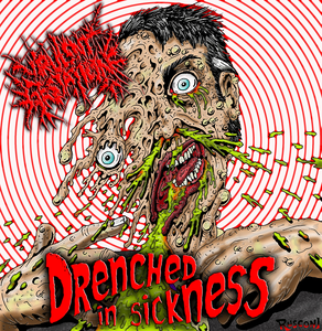 """Image of """"Drenched In Sickness""""...Full-length pro-CD"""