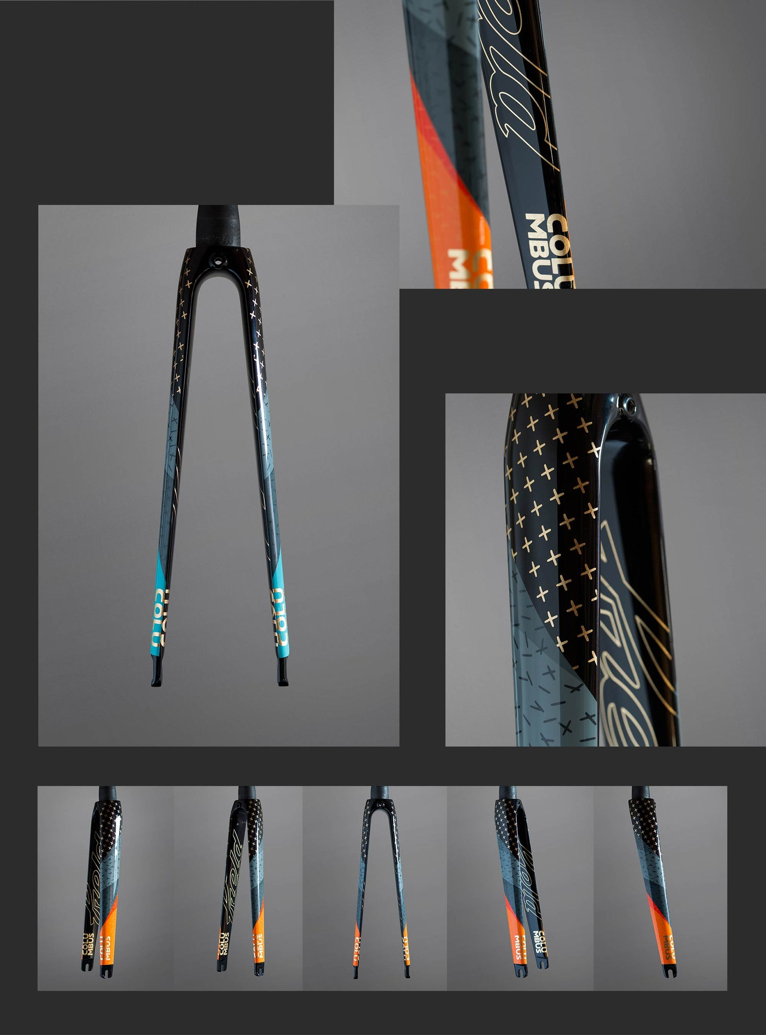 Image of Field X Columbus custom Fel fork