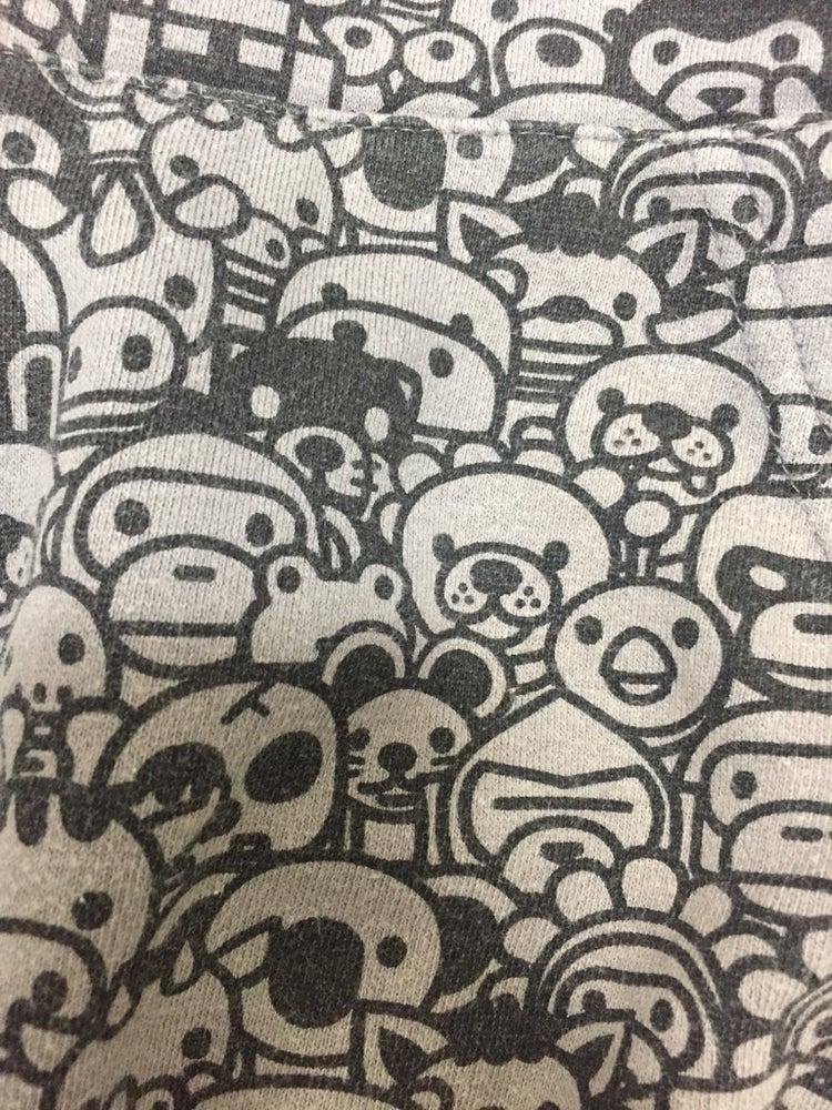 Image of Bape Japan Baby Milo Store Animal Kingdom Hoodie