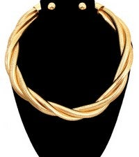 Image of LINE NECKLACE SET