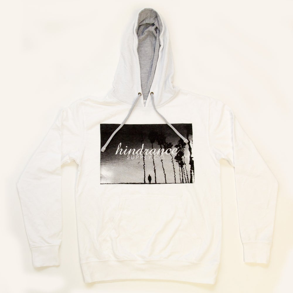 Hindrance Supply Co. — Beach Pullover Hoodie - White