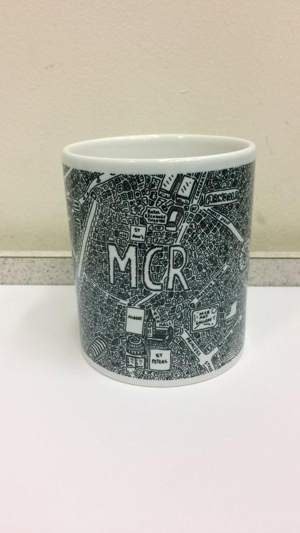 Image of Manchester Doodle Mug