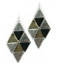 Image of DIAMOND DROP EARRINGS