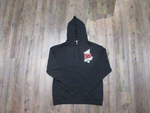 "Image of 23PENNY ""Mostly Heard Rarely Seen"" Black Hoodie"