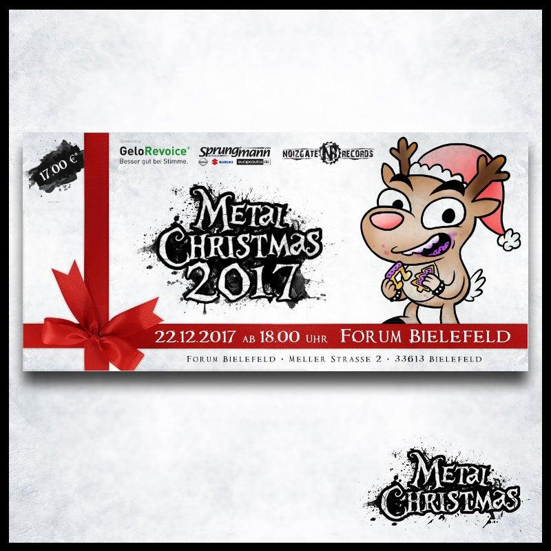 Image of Vorverkauf-Tickets für das Metal Christmas 2017