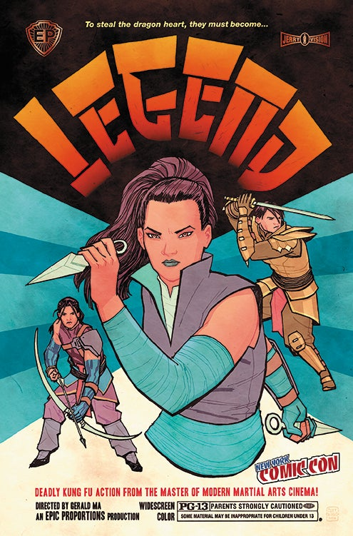Image of Legend Book 1, Cliff Chiang Variant Cover