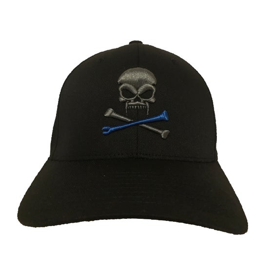 Image of Sonkei Blue 3D Puff Black FlexFit Hat