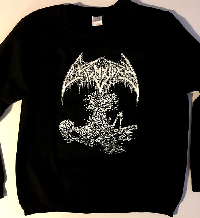 "Image of Crematory "" Exploding Chest "" Sweatshirt"