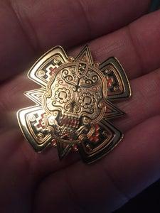 Image of Sugar skull pin