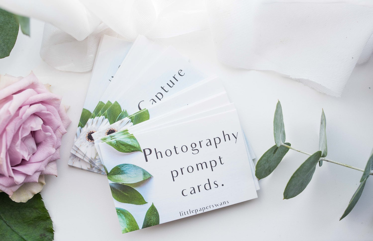 Image of Photography Prompt Cards