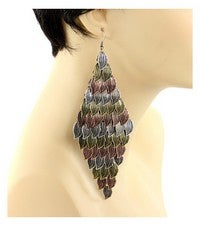 Image of AUTUMN LEAF EARRING