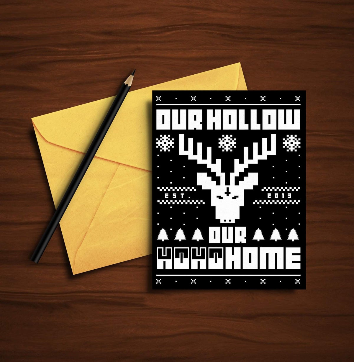 Image of CUSTOM OHOH XMAS GREETINGS CARD