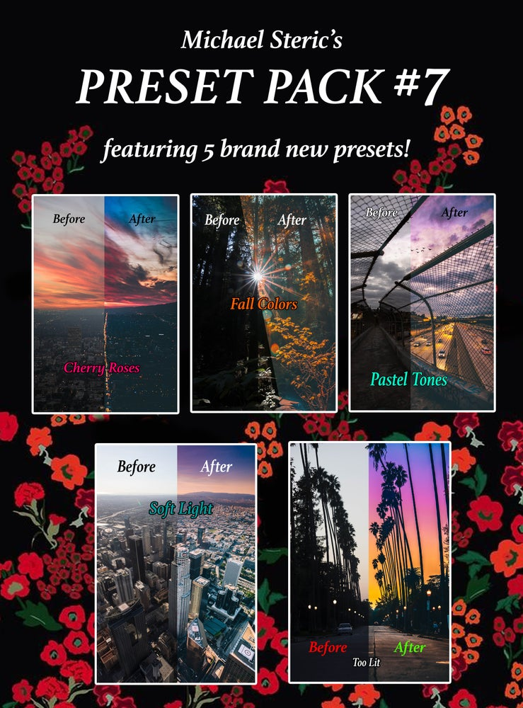 Image of MICHAEL STERIC PRESET PACK #7 - 5 PRESETS INCLUDED