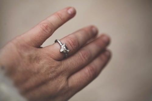 Image of *NEW* fox ring