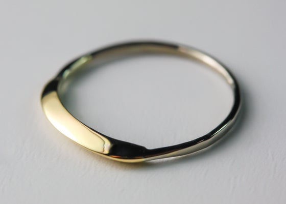 Image of 14KT Solid Gold Ring Handcrafted by Philip Crow