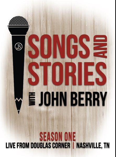 Image of Songs and Stories with John Berry Season One (3) Disc DVD Set