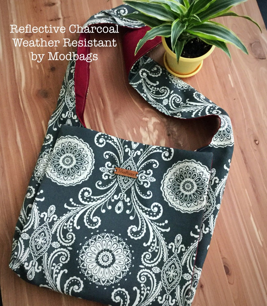Image of Reflective Charcoal Weather Resistant Ministry Bag