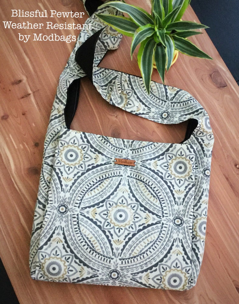 Image of Blissful Pewter Weather Resistant Ministry Bag