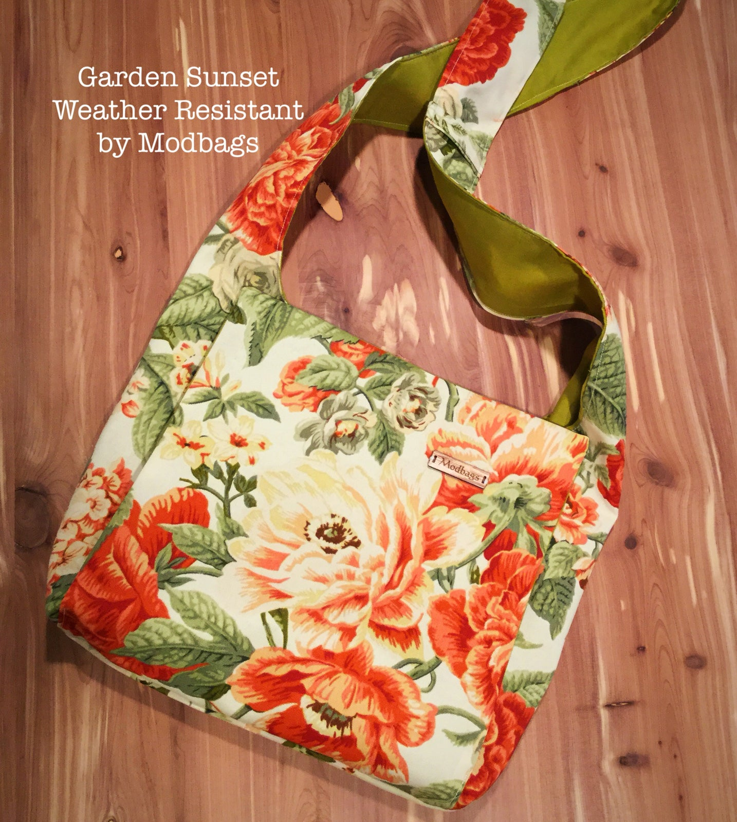 Image of Garden Sunset Weather Resistant Ministry Bag
