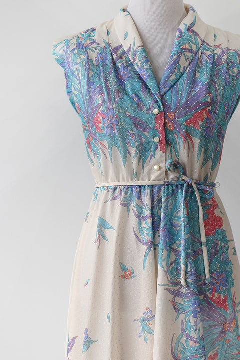 Image of SOLD Snowing In The Jungle Dress