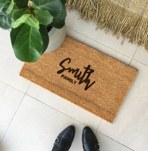 Image of NEW Custom welcome mat