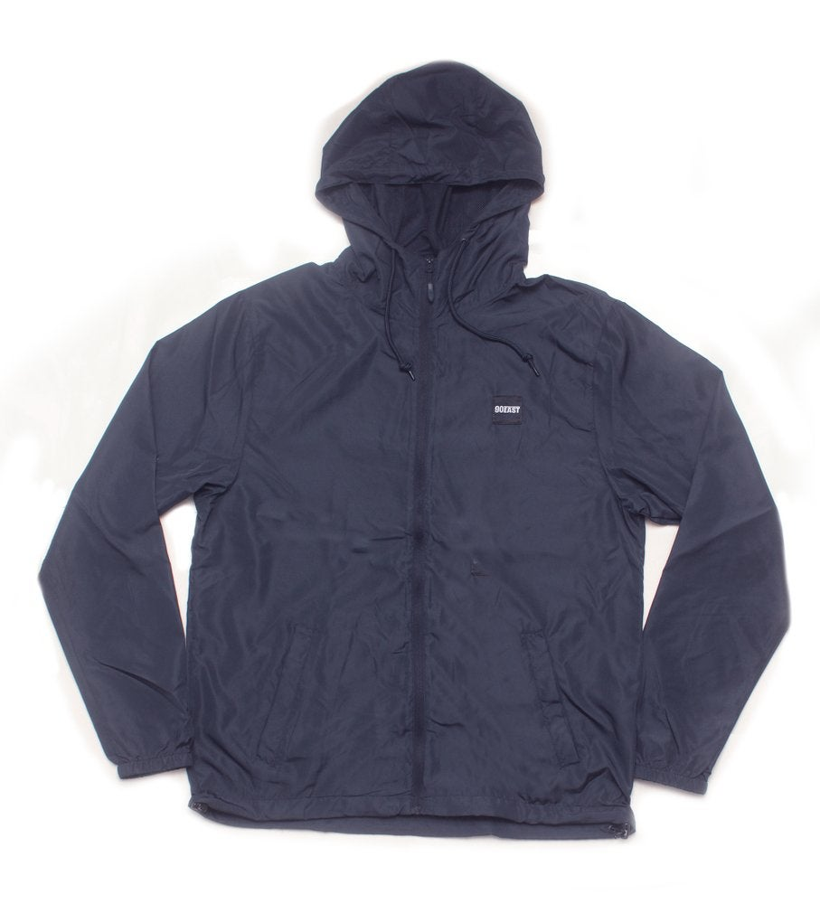 Image of 90East Wharf Lightweight Windbreaker - Navy