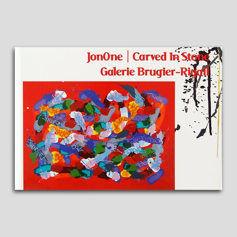 Image of JonOne - Carved in Stone