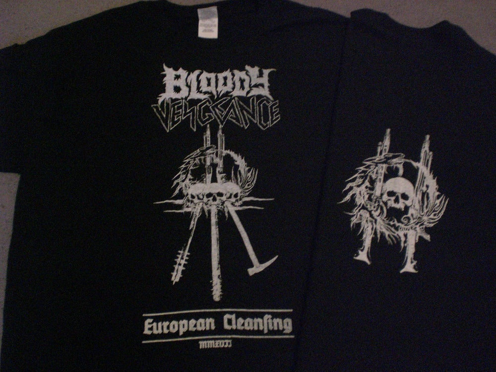"Image of BLOODY VENGEANCE T-Shirt ""European Cleansing"""