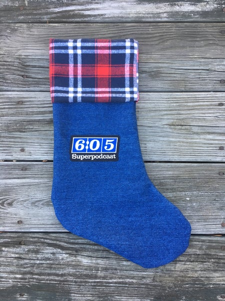 Image of 6:05 Superpodcast Denim Stockings (2017 Edition)