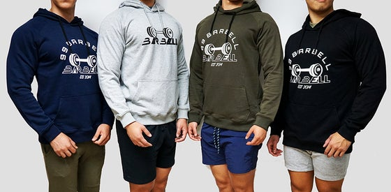 Image of (Pre-Order w/ Shipping  99 Barbell Gym Hoodie