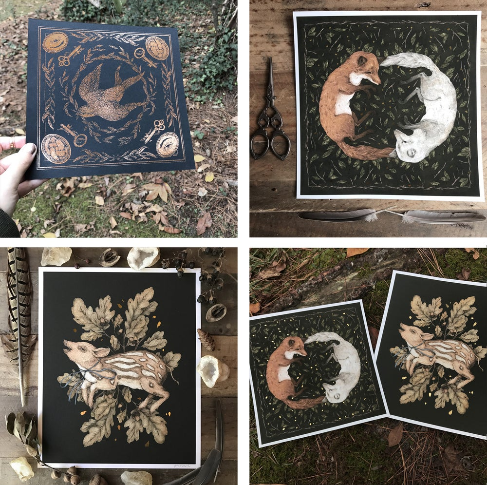 Image of Gold Foil Prints