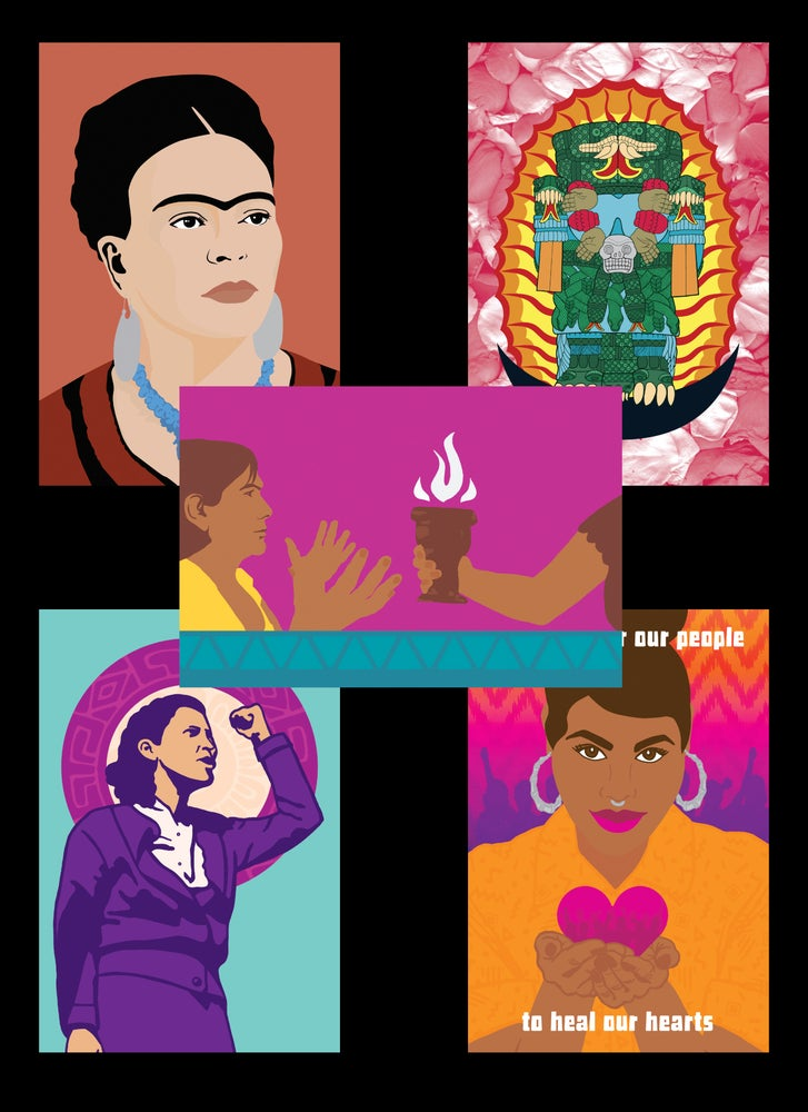 Image of Chingona Postcard Set