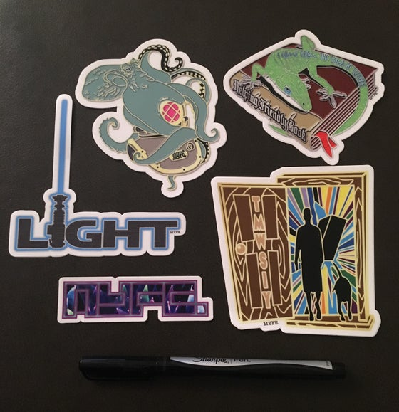 Image of MYFE. Slap Pack (5-pack)