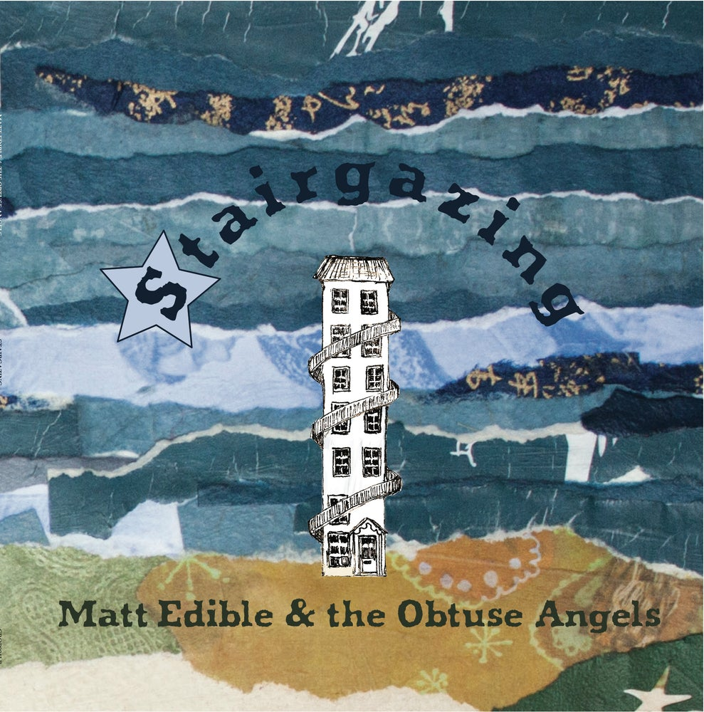 "Image of **Pre-order**  Matt Edible & The Obtuse Angels - ""Stairgazing"" 12"" Vinyl LP"