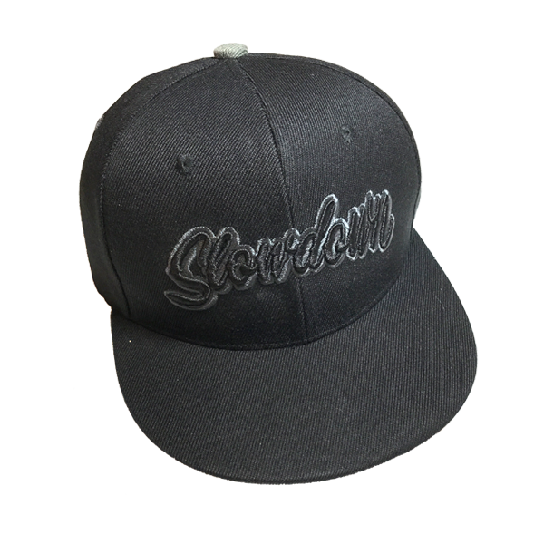 Image of Slowdown Snap Back Black on Black