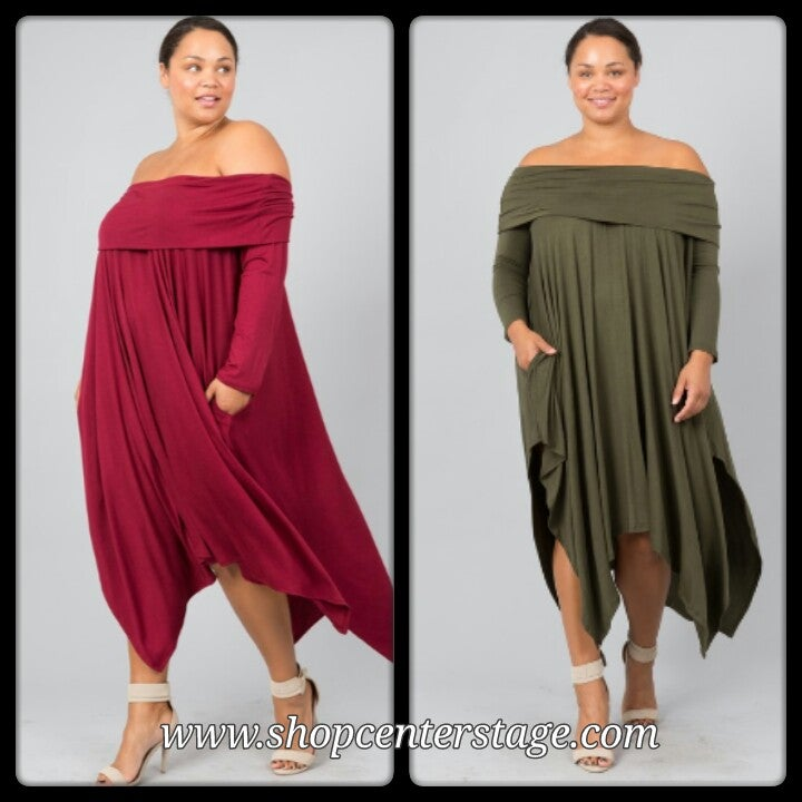 Image of point hanky dress